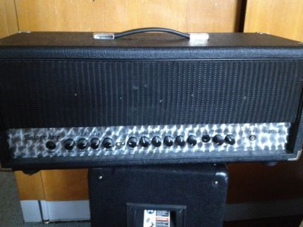 Vintage Amp Gitarrenverstärker Gitarrenbox Topteil Halfstack in