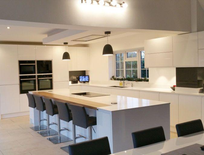 Nice Remo White   Elements Kitchens Kitchen
