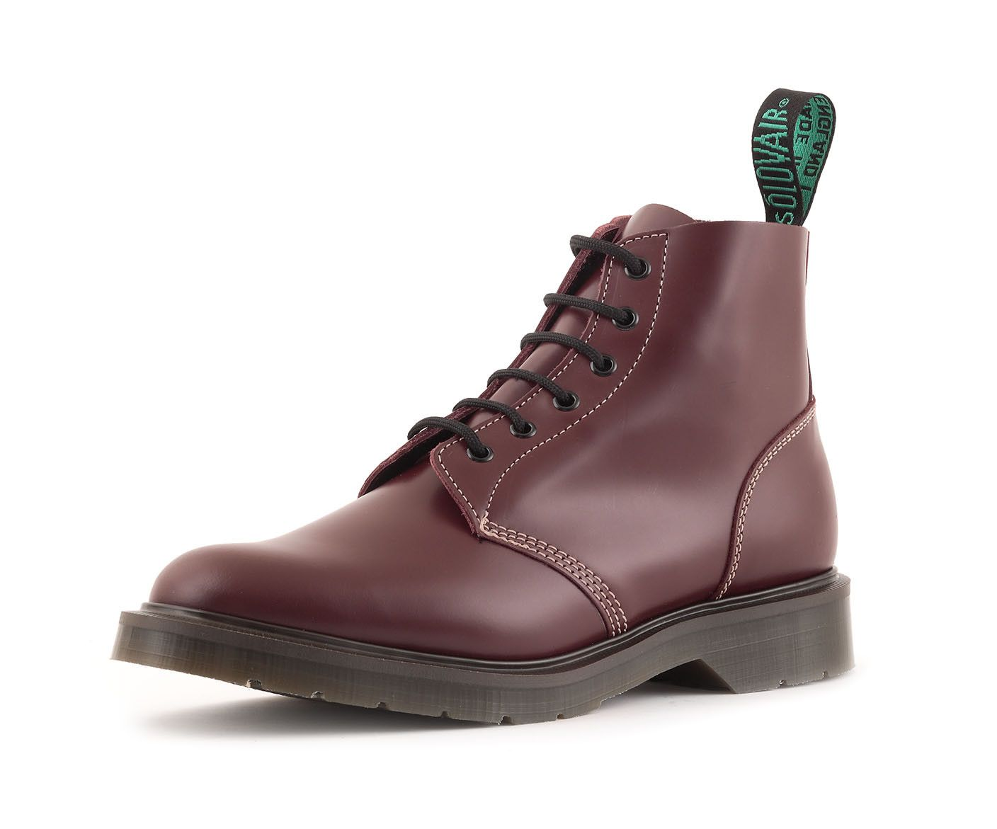Classic 6 Eye Derby Boot In Oxblood Shoes Boots Oxblood Shoes