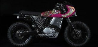 Honda NX650 by Keiichi Tanaami and Basic Garage Italy 1