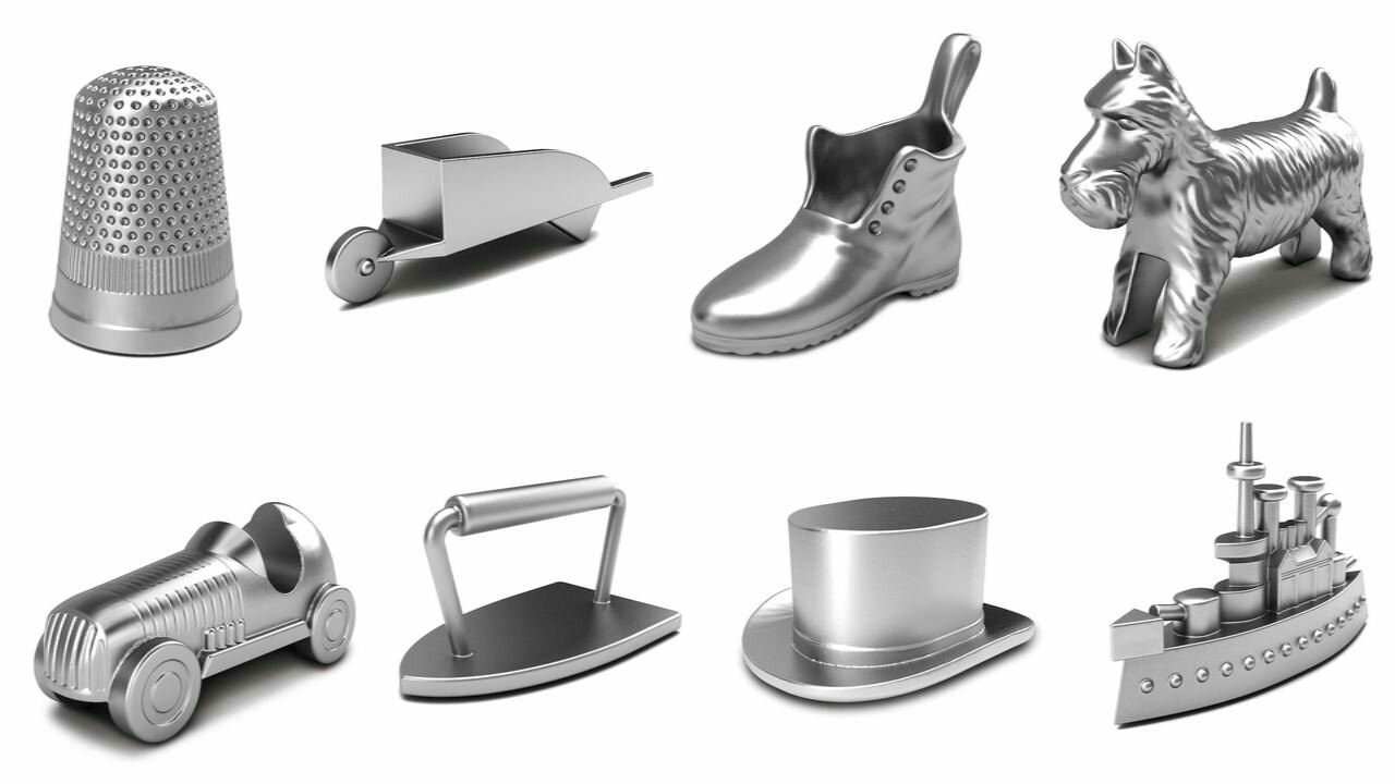 Monopoly Pieces Clip Art
