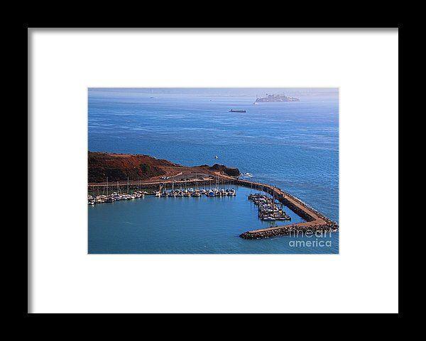 san francisco, california, boat, water, landscape, michiale schneider photography, interior design, framed art, wall art