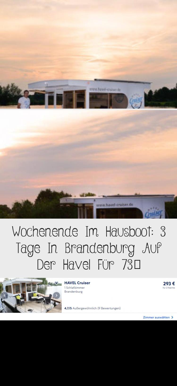 Havel Cruiser Abend Vehiclesideen In 2020 Hausboot Brandenburg Reisen