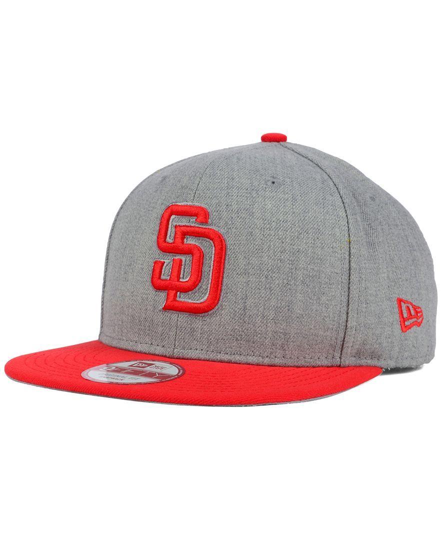 new arrivals 2fe92 ebab9 New Era San Diego Padres Speed Up 9FIFTY Snapback Cap