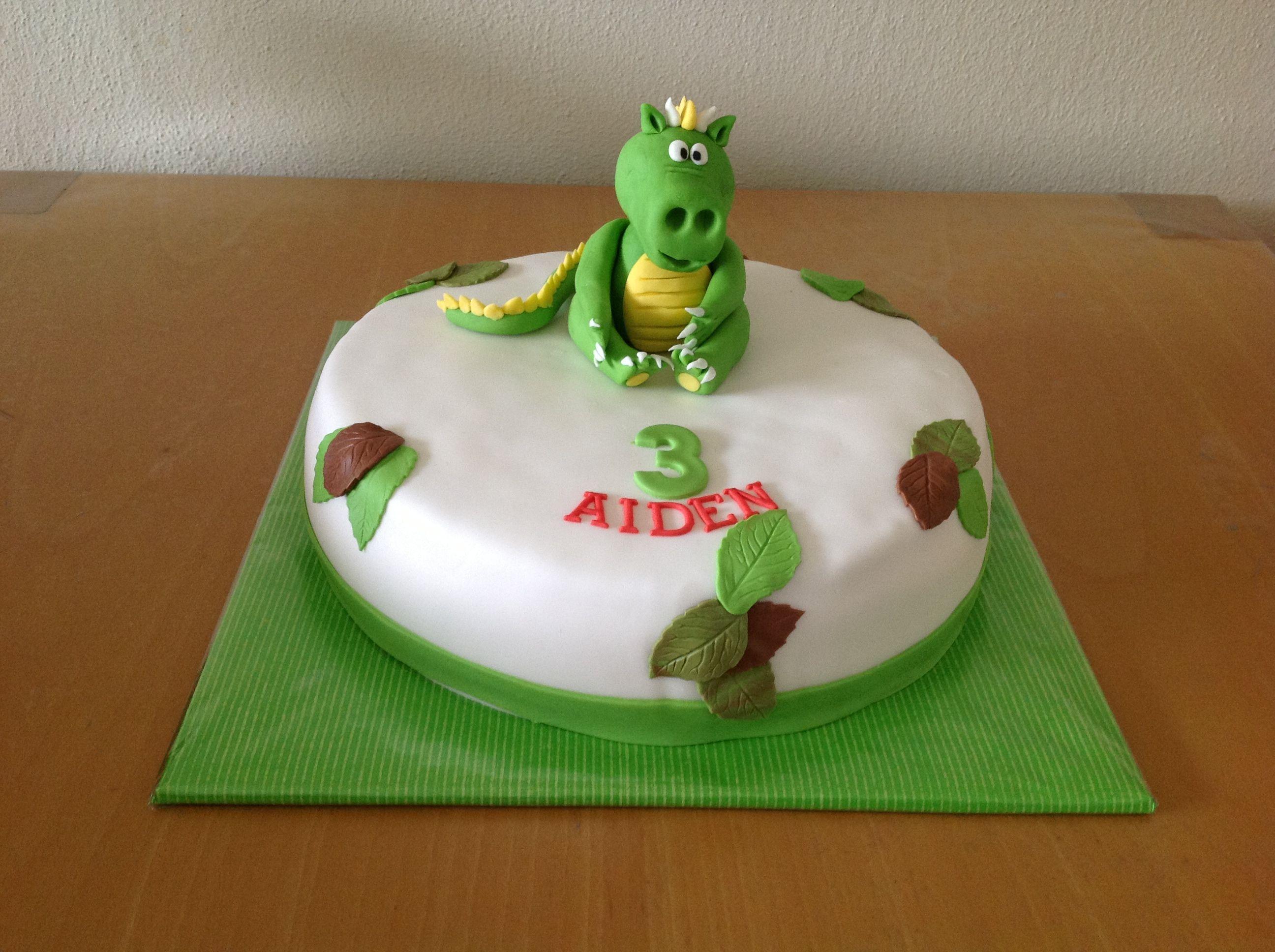 Kleine draak taart