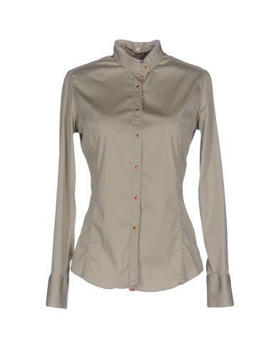 alta moda doppio coupon grande sconto AGLINI Women's Shirt Light grey | Products | Shirts, Shirt ...