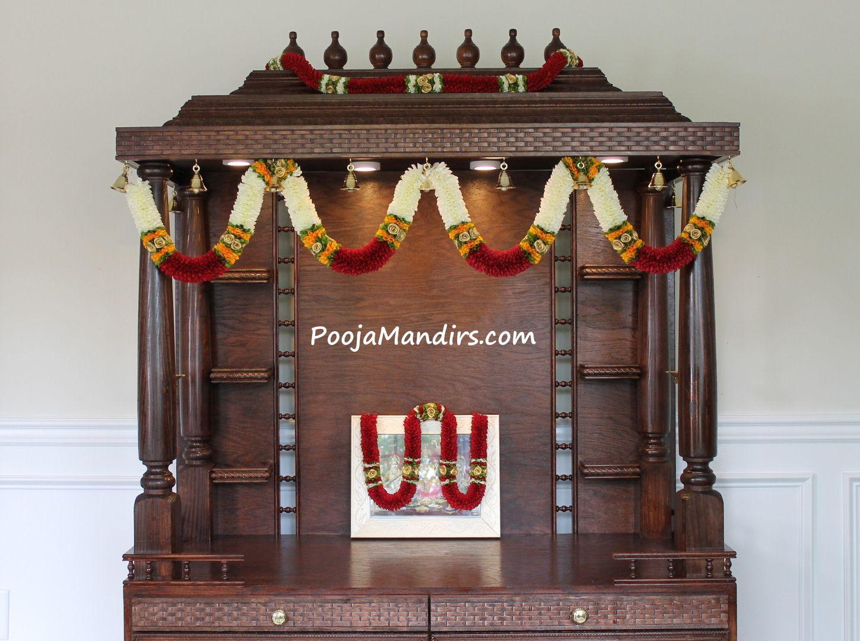 Pooja Mandirs Usa Shravana Collection Open Model Pooja Mandir