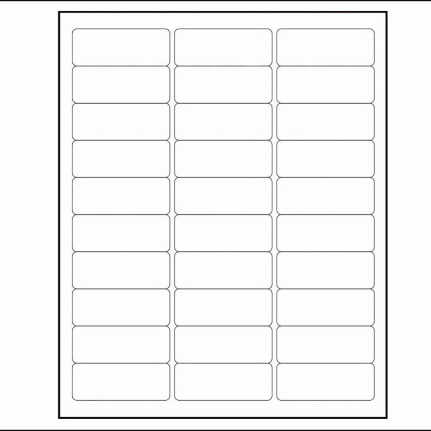 Labels Template For Pages Fresh Per Sheet Label Template