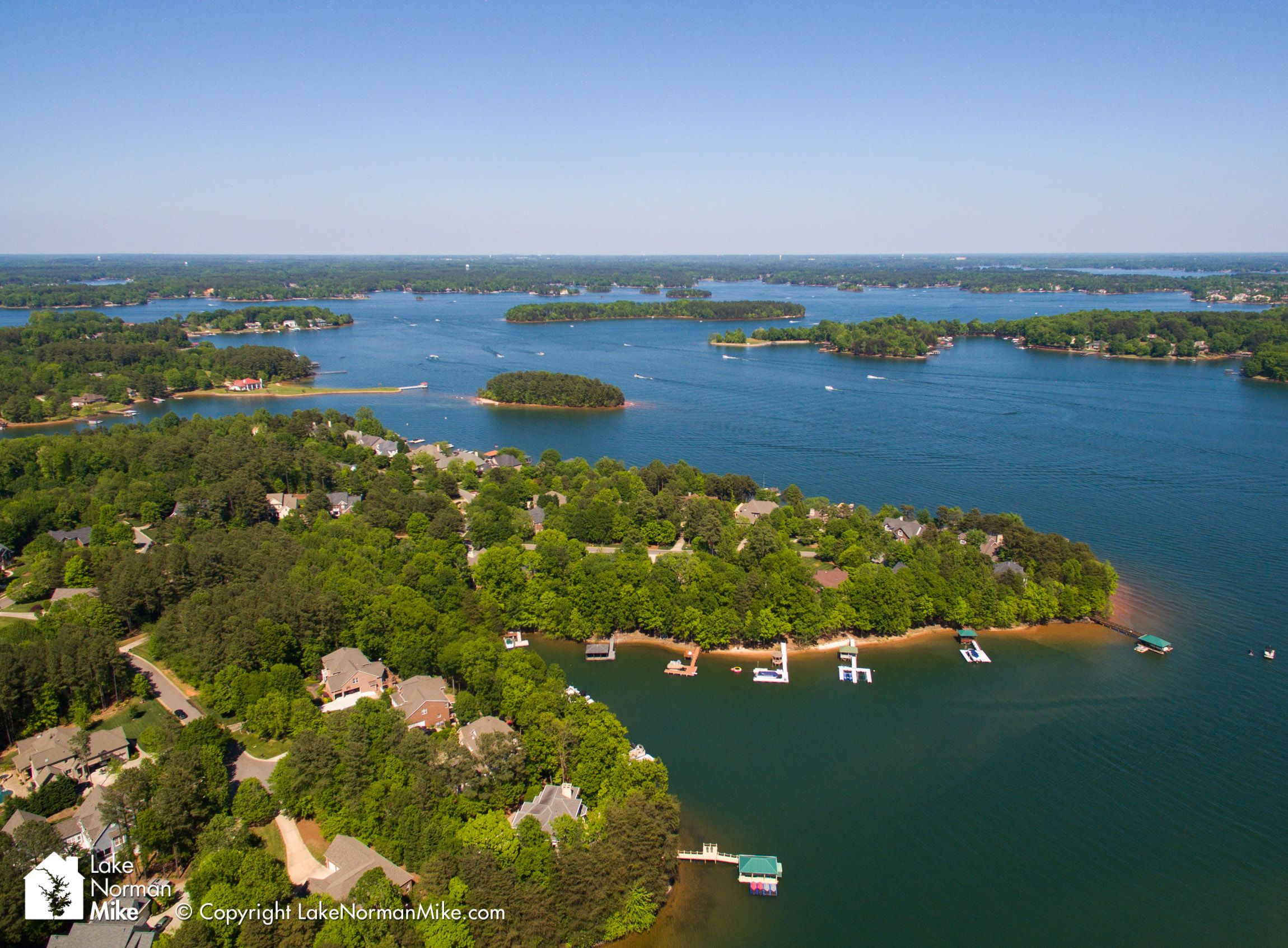 Cool View Of Lake Norman From Denver Nc Denver North Carolina Download Free Architecture Designs Grimeyleaguecom