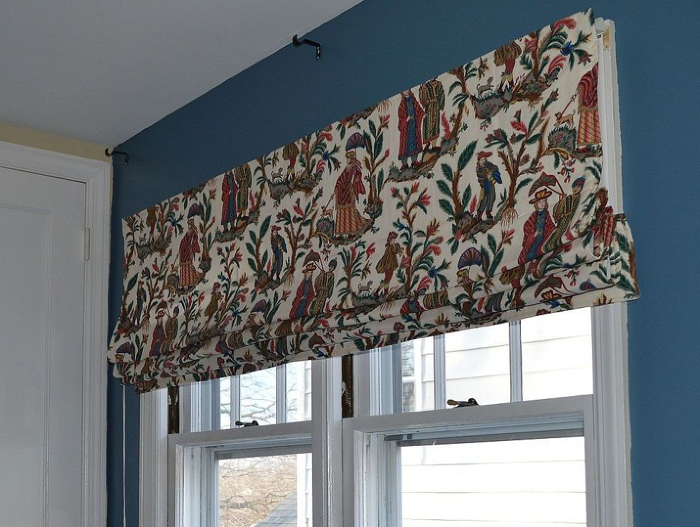 how to make a roman shade with fabric