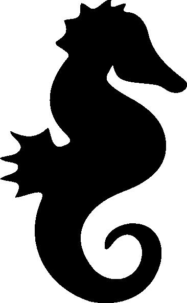 free vector seahorse silhouette clip rh pinterest com