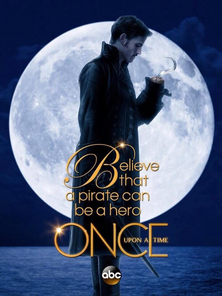 this is just so perfect, because people always think of pirates the bad guys, but hook is a good guy on the inside