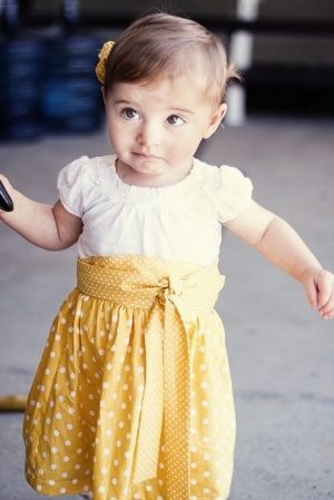 how to for high waist skirt for toddler! how precious lil-bits