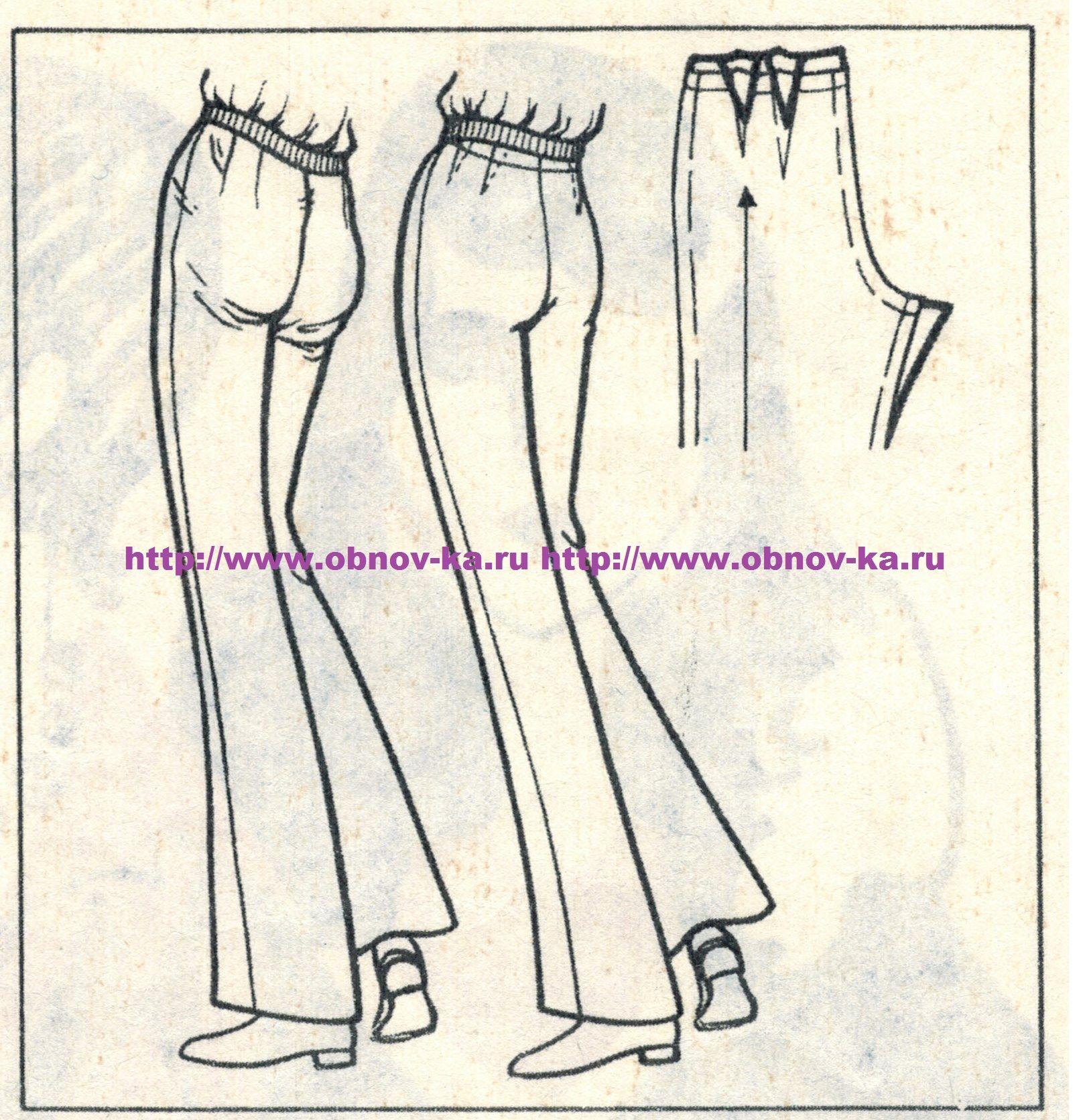 Примерка брюк 1 | sewing | Pinterest