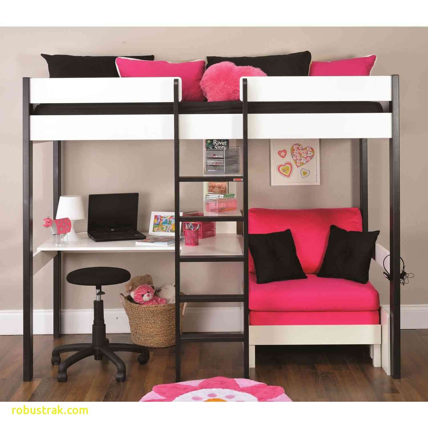 High Sleeper Bed With Futon And Desk For Loft Beds Ebay 2018