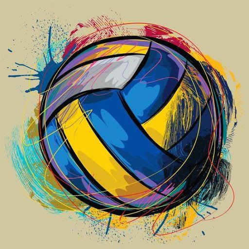 Pin By Aryaveer Agarwal On Art Volleyball Wallpaper Volleyball Drawing Volleyball Images
