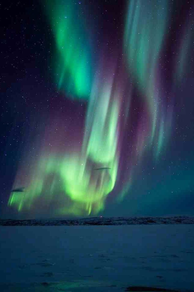 Captivating Aurora Borealis / Northern Lights Idea