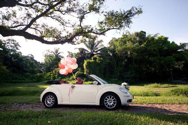 Amazing New Beetle Wedding