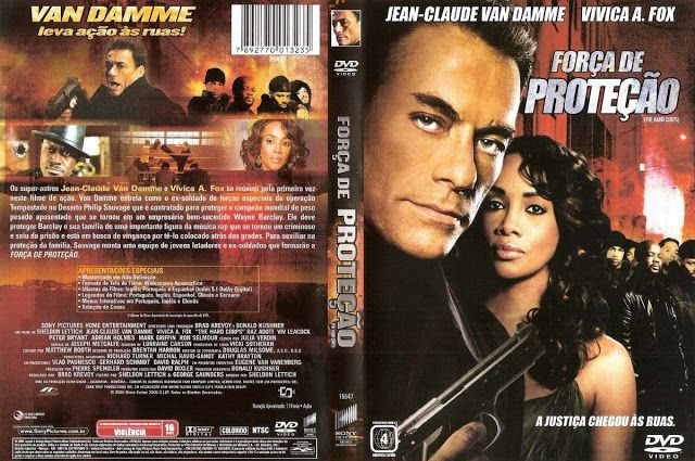 Forca De Protecao Van Damme 2006 Em Dvd R Black39 Acervo