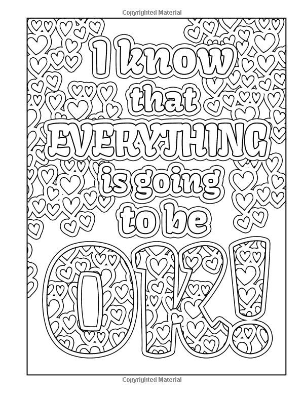Pin By Lauren Saxby On Strategies Quote Coloring Pages Coloring Books Adult Colouring Printables