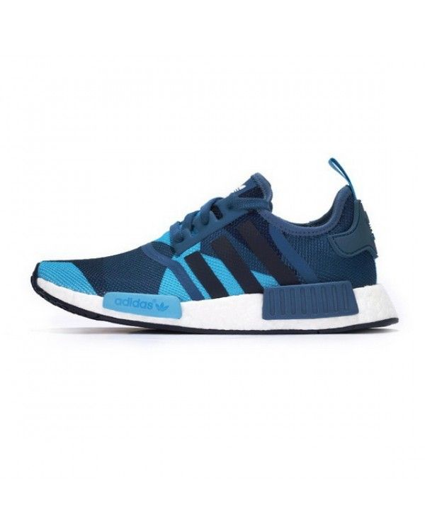 7c8599892 Adidas Wmns NMD R1 Blanch Blue Collegiate Navy Fast Delive £58.60 ...