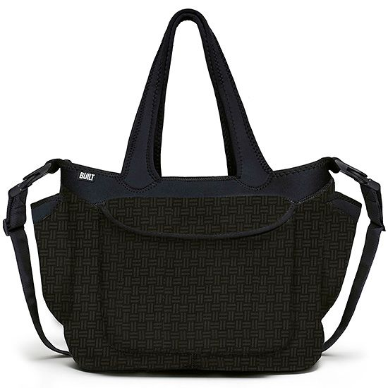Go-Go Diaper Tote - Gridlock, This Built Go Go Diaper Tote is a diaper bag plus. Numerous inner pockets keep it all organized; exterior pockets hold water bottles, baby bottles, sippy cups – whatever you need.
