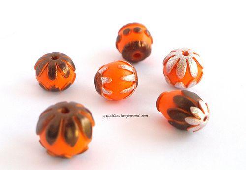 Beads 18_06 | polymer clay | Galina Grebennikova | Flickr