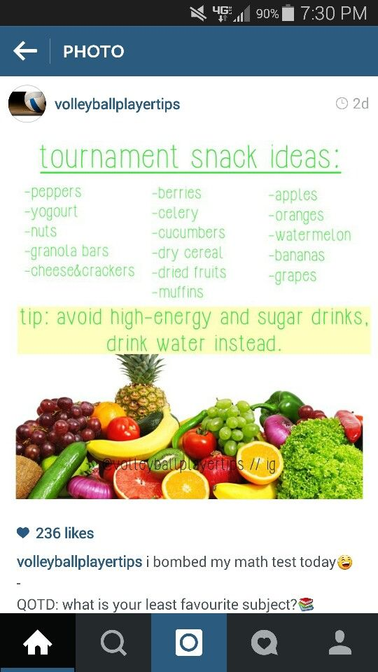 Volleyball Tournament Snacks Tournament Food Volleyball Snacks Sports Snacks