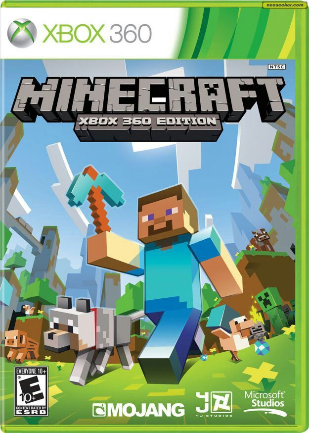 Minecraft  You can get this on the xbox 360, the pc, ios or