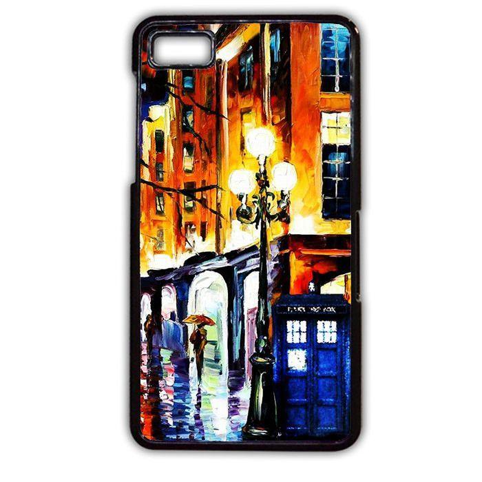 Doctor Who Tardis Painting TATUM-3529 Blackberry Phonecase Cover For Blackberry Q10, Blackberry Z10