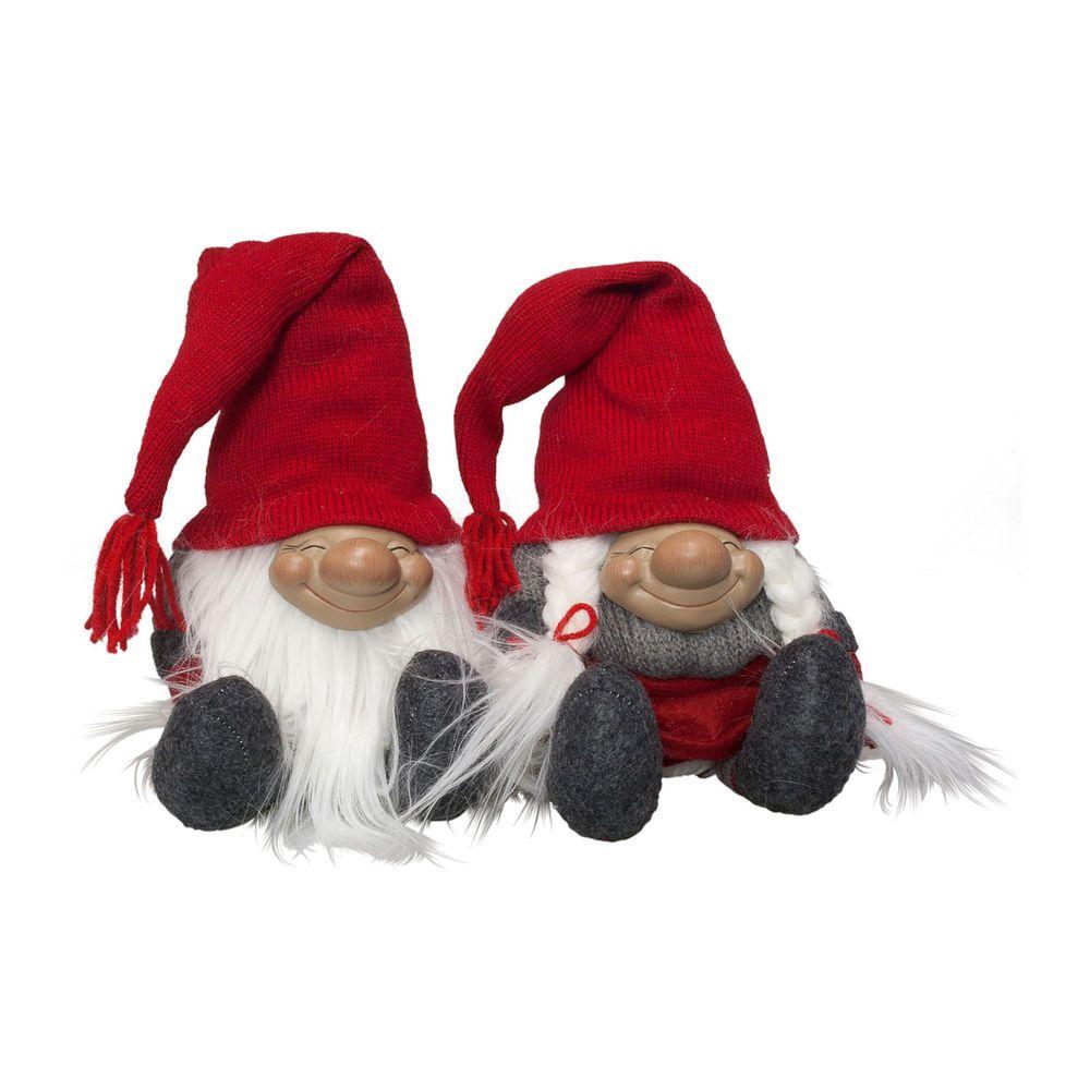 gnom 23cm kantenhocker wichtel weihnachtswichtel deko. Black Bedroom Furniture Sets. Home Design Ideas