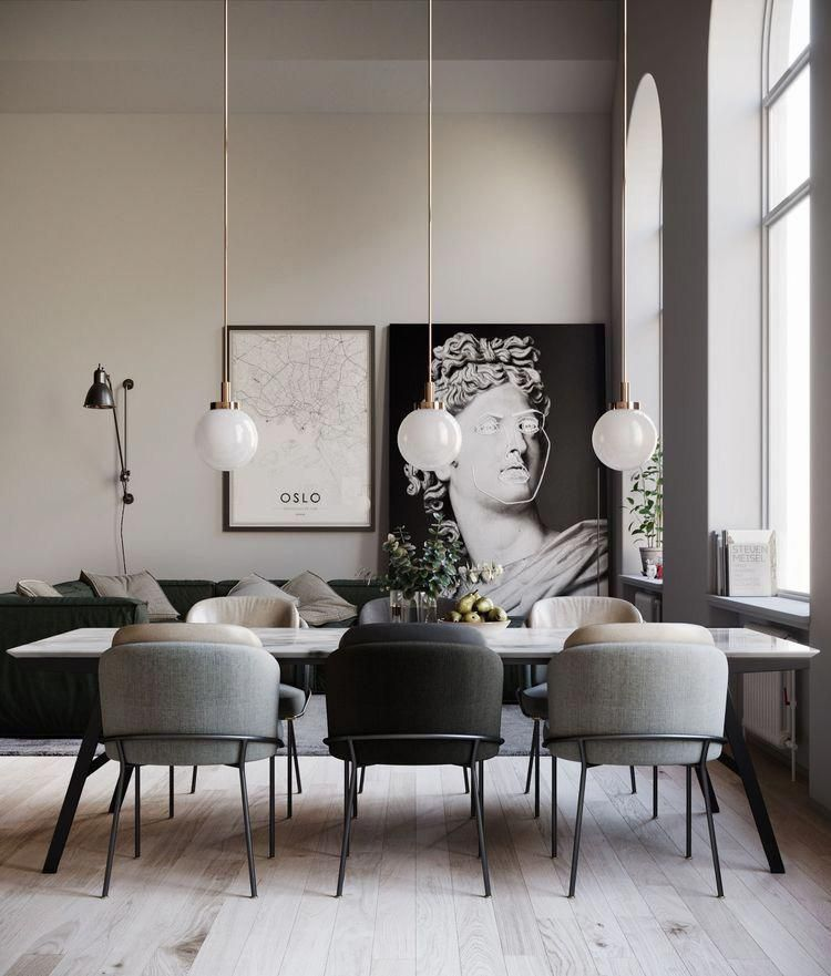 Small Spaces Are Constantly An Obstacle To Design Specifically Small Dining Areas Con Mid Century Dining Room Mid Century Modern Dining Room Modern Dining Room