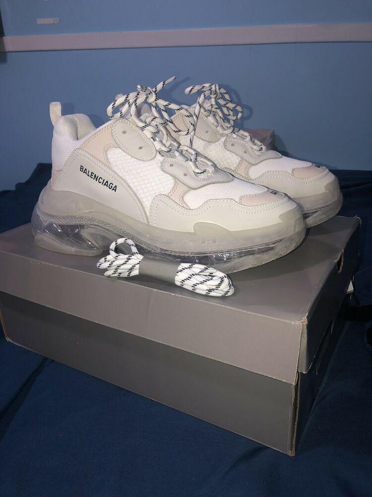 Balenciaga Triple S Sneakers white