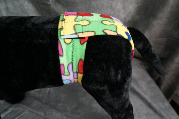 Large Diy Deluxe Dog Diaper Pdf Instructions Doggy Diy
