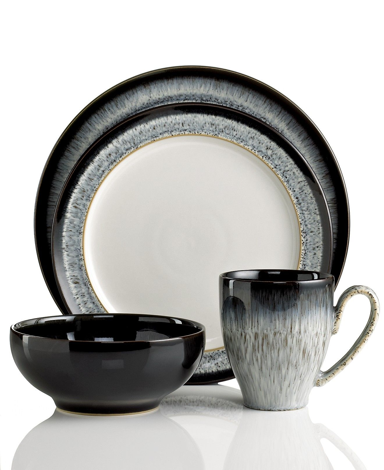 Denby Dinnerware Halo Collection Reviews Dinnerware Dining Macy S Dinnerware Sets Halo Collection Casual Dinnerware