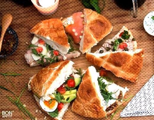 5 x lekker Turks brood belegd! - Bonapetit lunchwraps