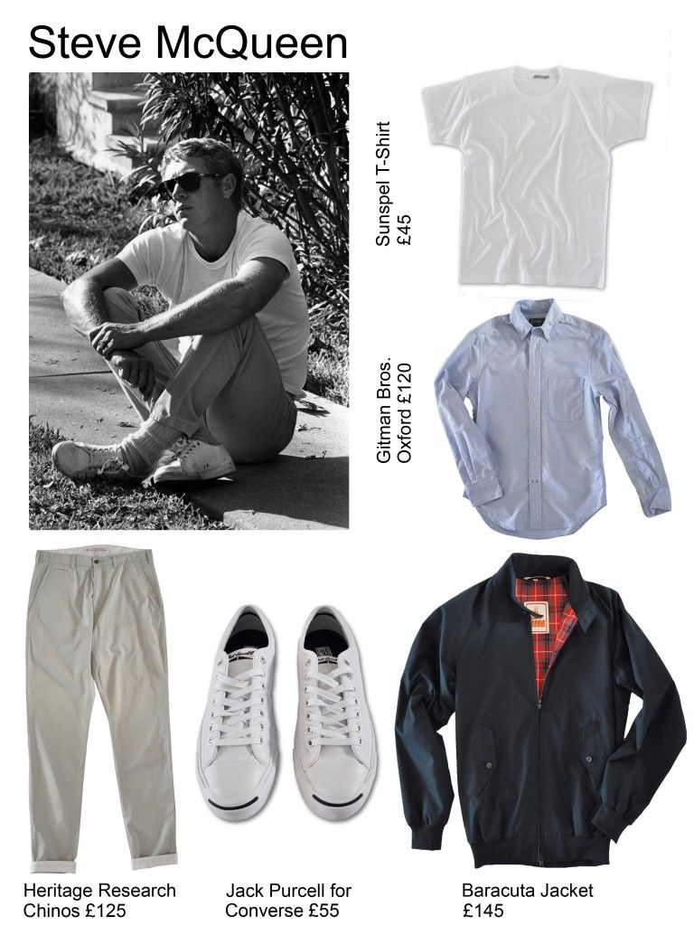Icons Of Style News Boys Steve Mcqueen Style Steve Mcqueen Le