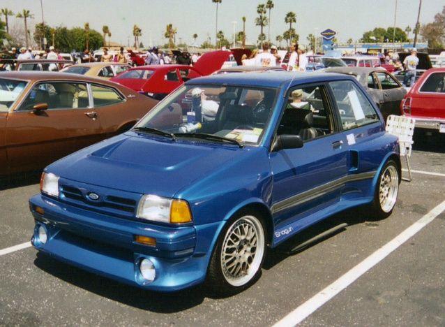 Ford Festiva Shogun (Ford SHO engine) | Cars I want ...