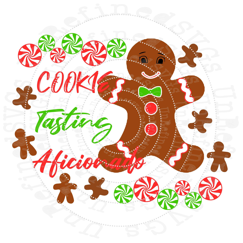 Gingerbread Man SVG, Christmas Cookie SVG, HTV Design File
