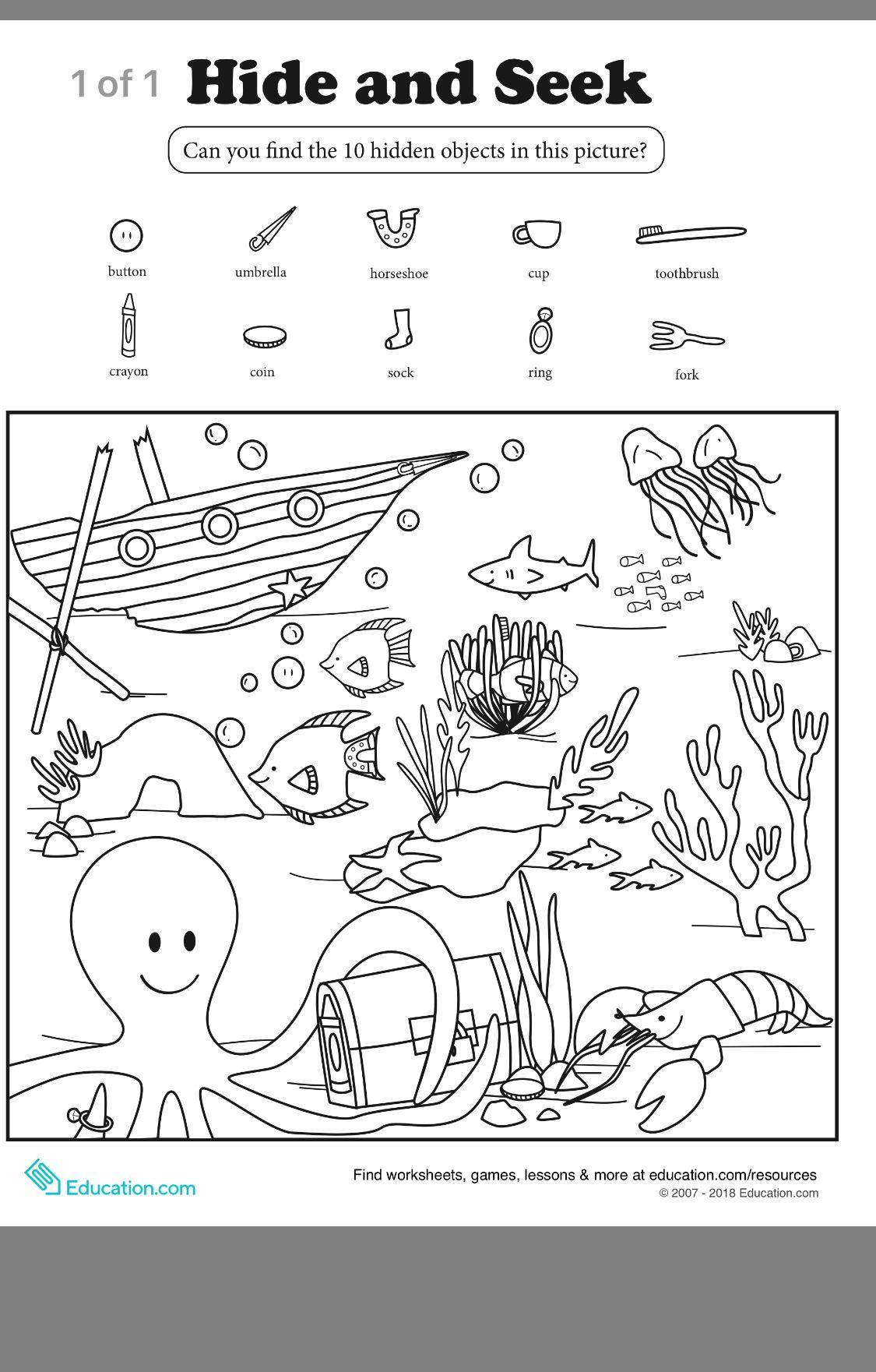 Pin By Siddika Moledina On Preschool Worksheets
