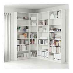 Ikea Billy Bookcase White Adjustable Shelves Can Be Arranged