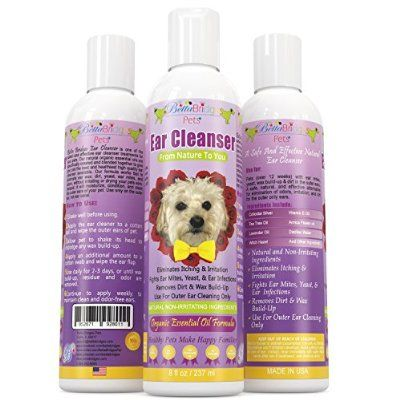 Betta Bridges Pets Ear Cleaner For Dogs New Improved Ear