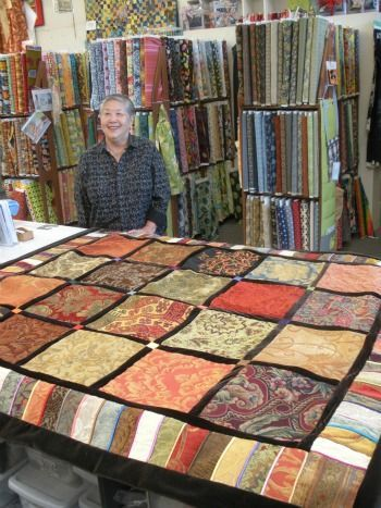 Image result for recycled upholstery fabric quilt Pinterest