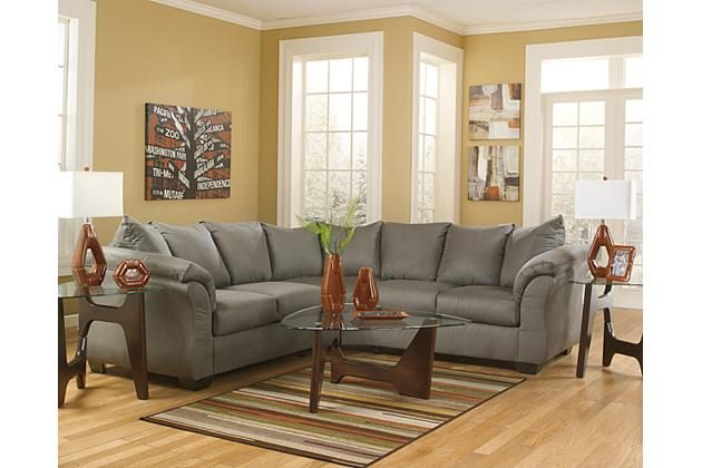 Swell Cobblestone Darcy 2 Piece Sectional View 3 For The Home Gmtry Best Dining Table And Chair Ideas Images Gmtryco