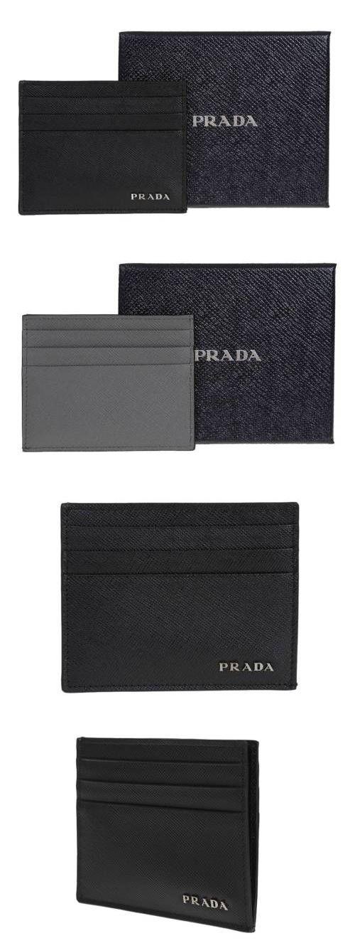 Business and Credit Card Cases 105860: New Prada Milano Saffiano ...