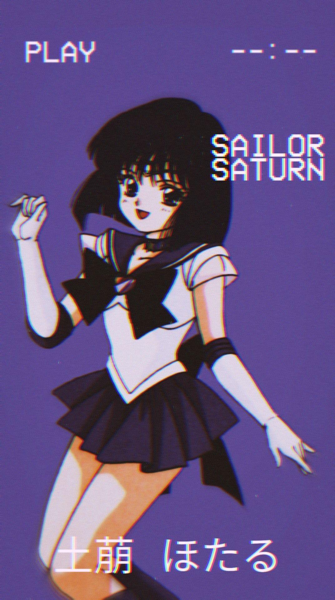 Pin By Daryn On Soleil Et Pluie Sailor Moon Wallpaper Sailor Saturn Sailor Moon Girls