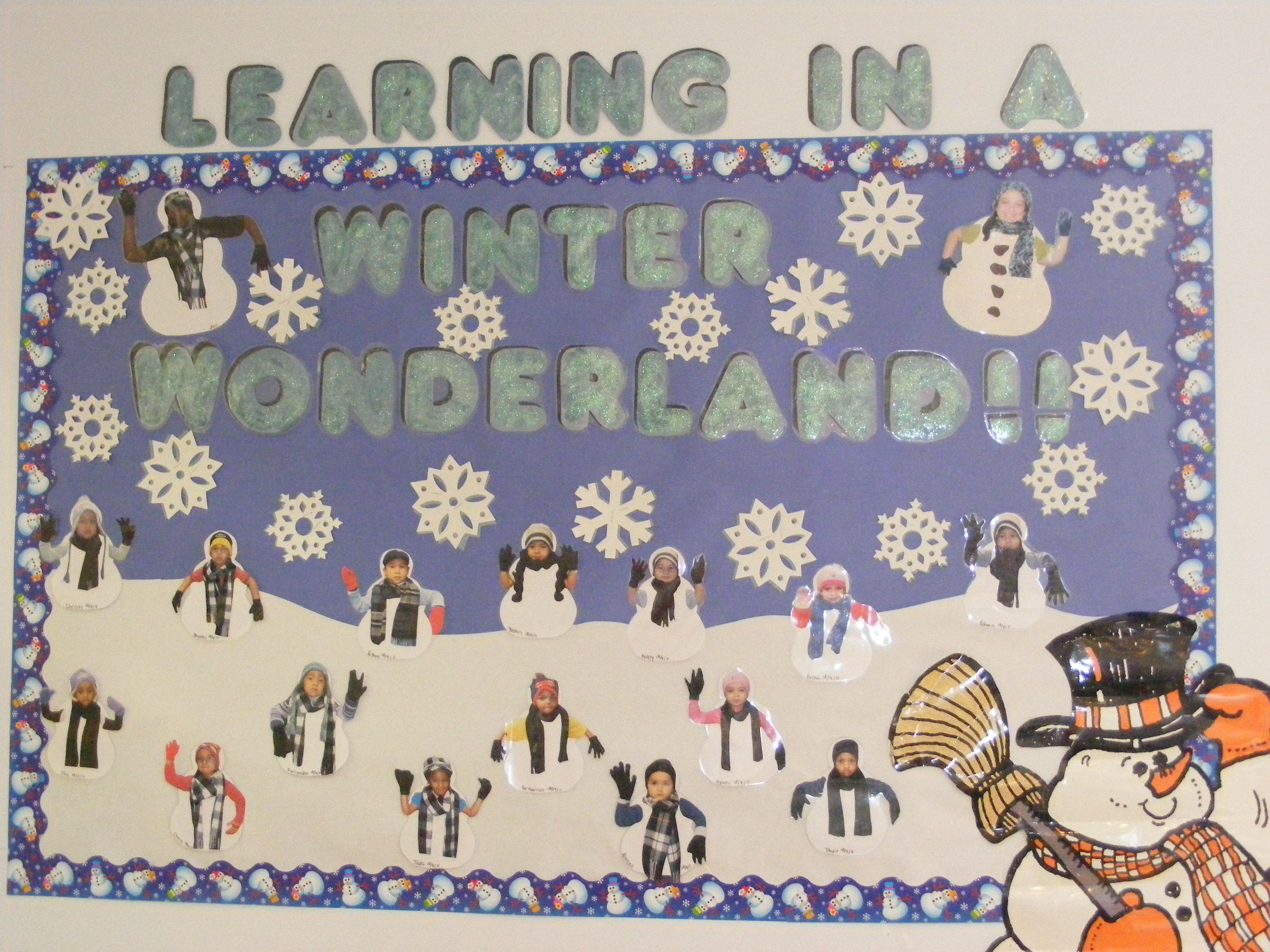 Learning In A Winter Wonderland For The Snowmen I Have A