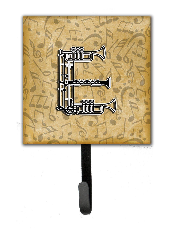 Letter E Musical Instrument Alphabet Leash or Key Holder CJ2004-ESH4