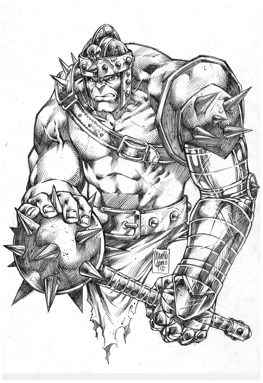 Hulk Medieval Artwork By Marcio Abreu 7 Hulk Comic Hulk Artwork Hulk Art
