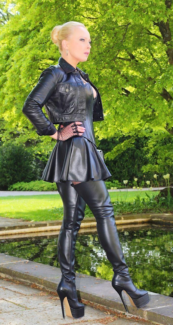 Leather goddess fetish photos 245